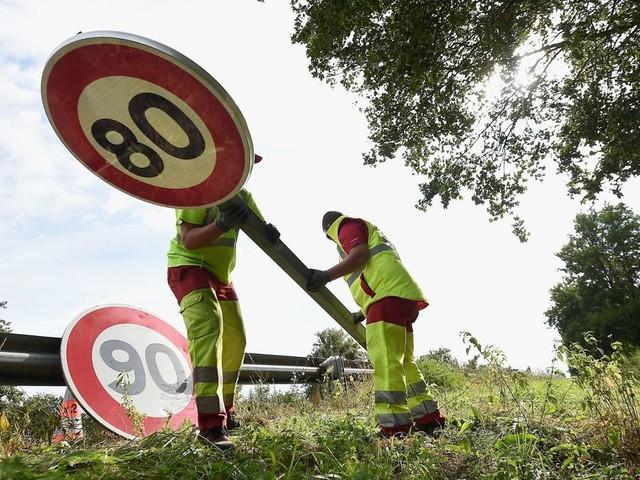Grâce aux 80km/h, 334 vies auraient été sauvées en 18 mois