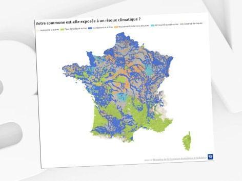 Inondations, avalanches, feux de forêts... Votre commune est-elle exposée à des risques climatiques?