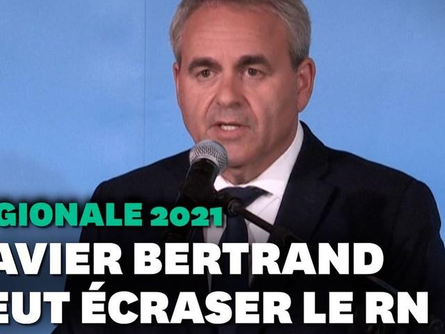 """Régionales 2021: Xavier Bertrand pense avoir """"brisé les mâchoires du RN"""""""