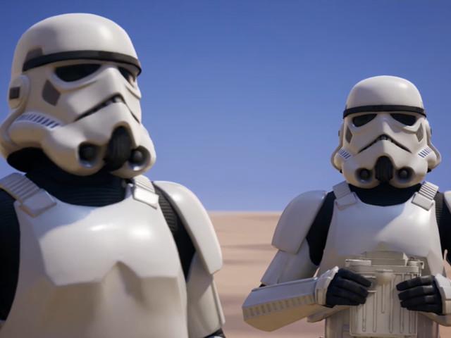 Fortnite : un crossover avec l'univers de Star Wars dévoilé