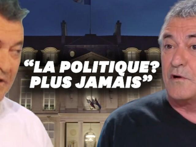"""En 2017, Jean-Marie Bigard jurait: """"La politique? Je ne touche plus à ça, c'est caca"""""""