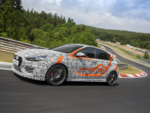 Les photos de la Hyundai i30 N Project C, une version plus performante