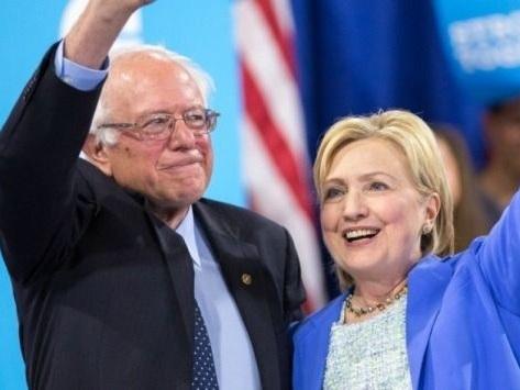 """Hillary Clinton tacle son ancien rival Bernie Sanders: """"personne ne l'aime, personne ne veut travailler avec lui"""""""
