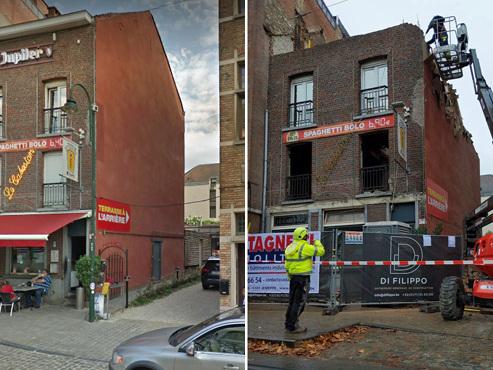"""""""Le bâtiment n'existe plus!"""": qu'est-il arrivé au célèbre restaurant Le Cabestan à Uccle?"""