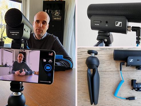 Les tests de Mathieu: vous adorez (vous) filmer avec un smartphone ? Ce kit très pratique va décupler la qualité du son
