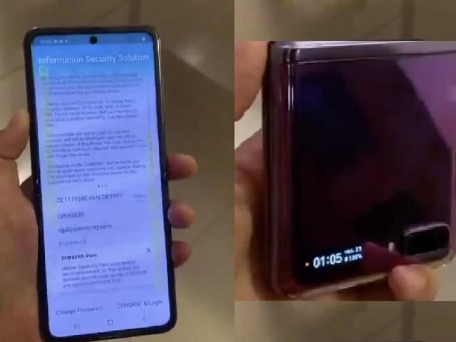 Galaxy Z Flip : découvrez la première prise en main vidéo