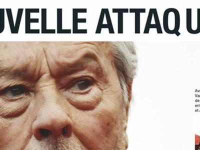 Alain Delon, drame, après son AVC, «une nouvelle attaque»