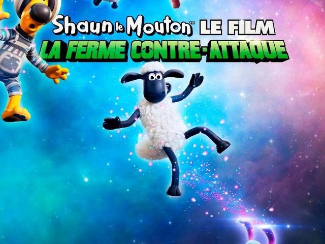 À voir dès ce mercredi au cinéma : Shaun le Mouton, La Ferme Contre-Attaque.