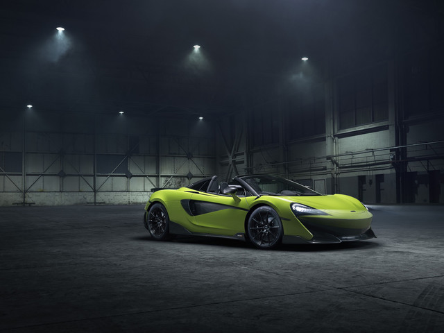 McLaren 600LT Spider, aucun compromis pour cette version découvrable