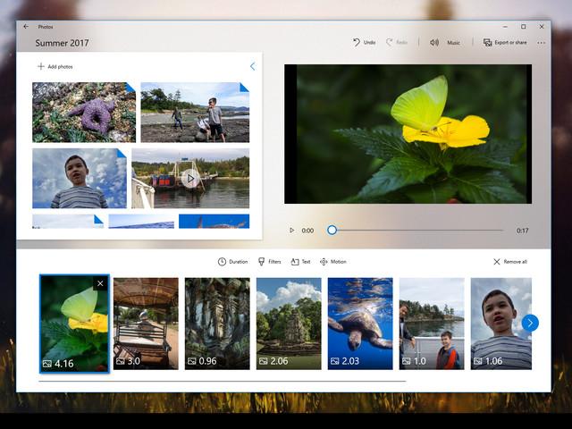 Windows 10 : l'insertion de modèles 3D dans Story Remix pour la Fall Creators Update