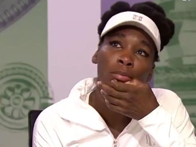 Venus Williams en larmes à Wimbledon en évoquant son accident de voiture qui a fait un mort