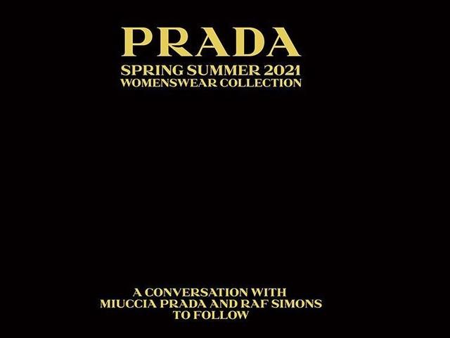 Suivez le défilé Prada en direct