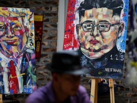 Portraits, coupes de cheveux : la folie Kim-Trump s'empare du Vietnam