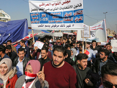 Tensions USA-Iran: les manifestants Irakiens ne veulent ni de l'un, ni de l'autre