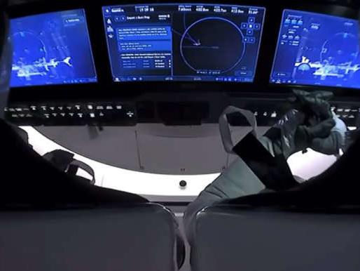 SpaceX: amerissage attendu de la capsule transportant deux astronautes américains