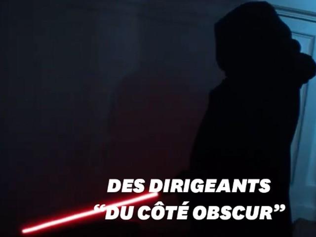 Macron en Dark Vador dans la nouvelle campagne de Greenpeace