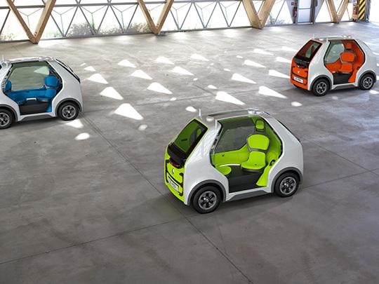 Renault EZ-Pod, un petit véhicule électrique, connecté et autonome