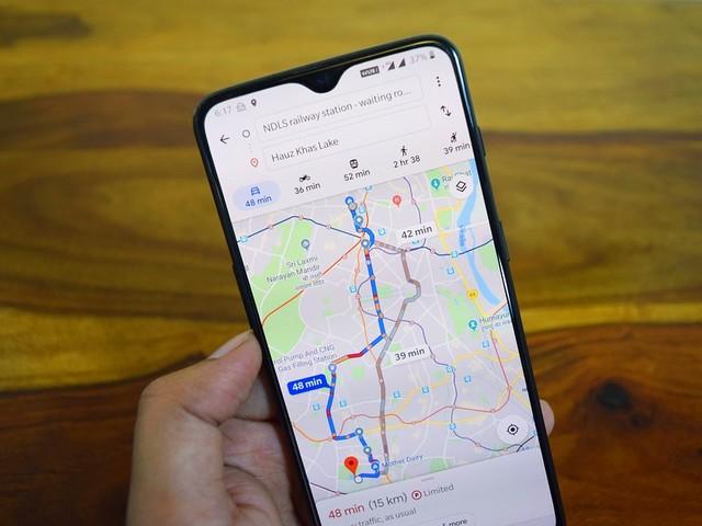 Voilà comment afficher le compteur de vitesse dans Google Maps