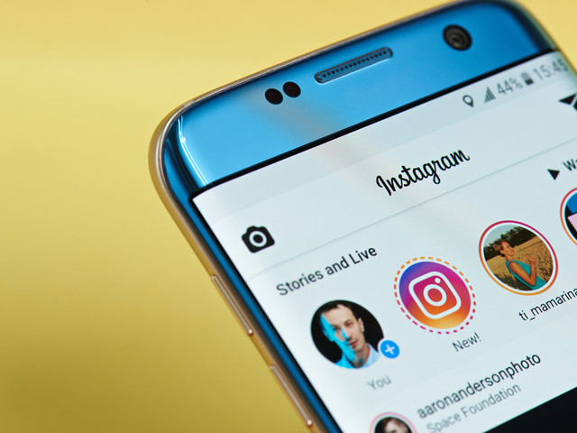 Masquer les publications d'un compte Instagram