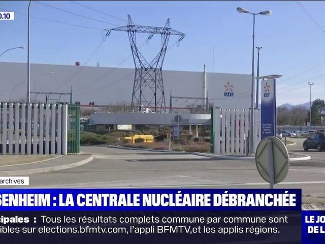 La centrale nucléaire de Fessenheim est définitivement débranchée du réseau électrique national