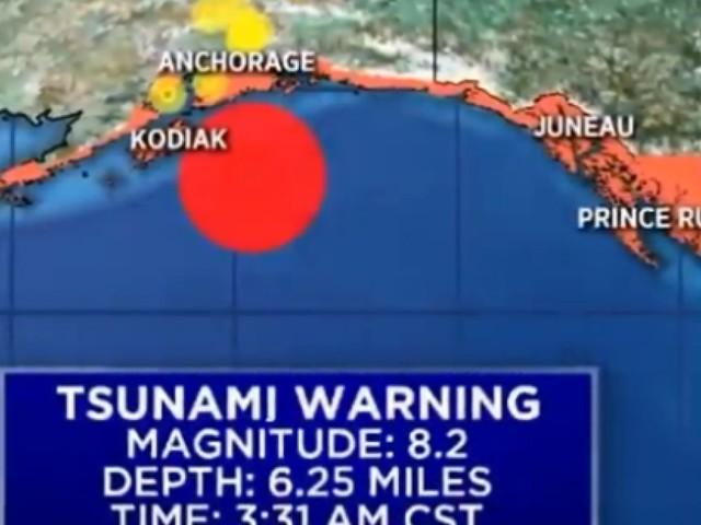 Alerte au tsunami en Alaska après un séisme de 7,9
