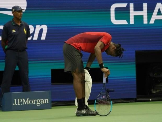 US Open : Gaël Monfils craque sous les coups de Matteo Berrettini, après 4h de match