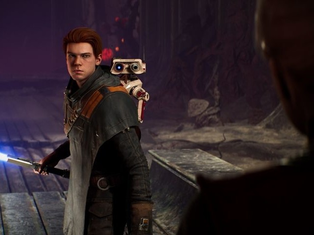 Star Wars Jedi : Fallen Order fait des papouilles au droïde BD-1