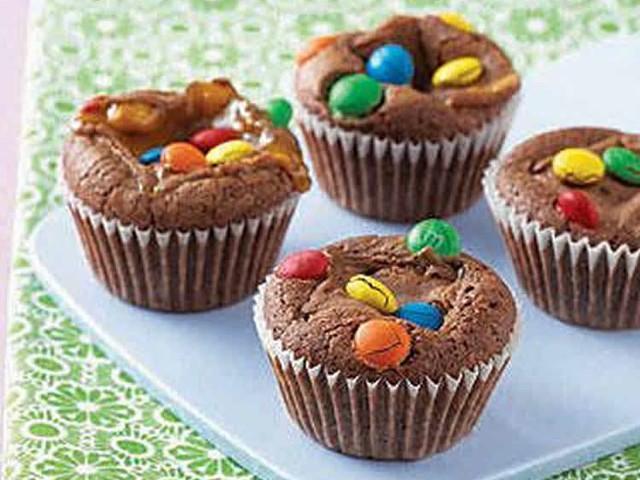Muffin chocolat et m&m's au thermomix