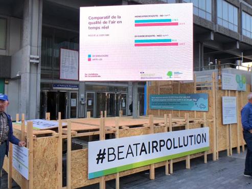 Le piétonnier de Bruxelles a-t-il rendu l'air plus respirable? Une station va faire des mesures pendant 12 jours