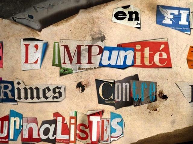 L'Unesco recense sur cette carte les 1349 journalistes tués dans le monde depuis 1993