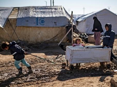 En Syrie, les enfants premières victimes de la mortalité dans le camp d'Al-Hol
