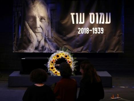 Les Israéliens rendent un dernier hommage au célèbre écrivain Amos Oz