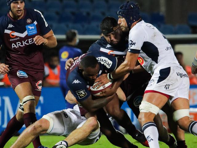 Top 14: Le match Agen - Bordeaux-Bègles reporté, des cas positifs côté girondin