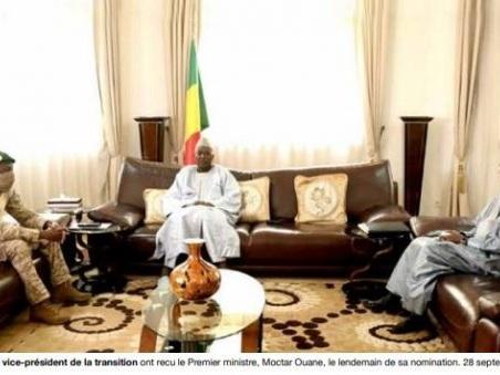 Mali – Transition:Le dur, le taiseux et le diplomate
