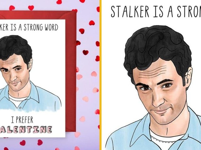 [TOPITRUC] Une carte de Saint-Valentin avec Joe de la série «You»