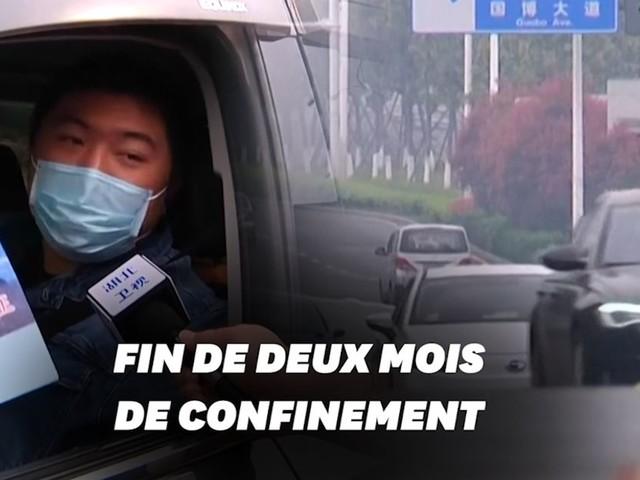 Coronavirus: à Wuhan, des habitants autorisés à sortir pour la première fois en deux mois