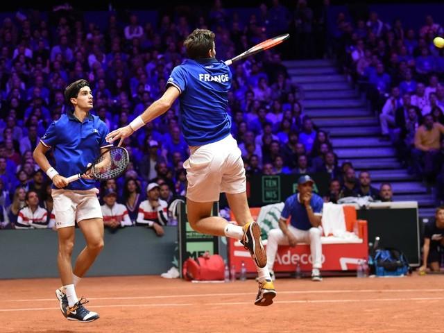 Coupe Davis: Mahut et Herbert s'en sortent en quatre sets, la France revient à 2-1 contre la Croatie