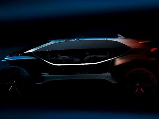 Audi avec un tout-terrain électrique à Francfort !