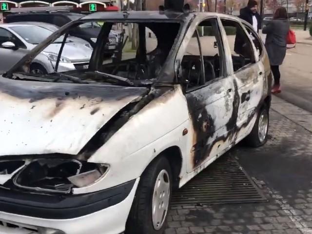 À Nantes, cette œuvre d'art insolite détruite par un incendie criminel