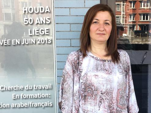 """Houda, refugiée syrienne à Liège depuis 3 ans: """"La sécurité est la chose la plus importante"""""""