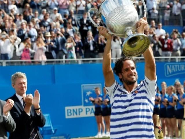 Tennis: première victoire de Lopez au Queen's, encore raté pour Cilic