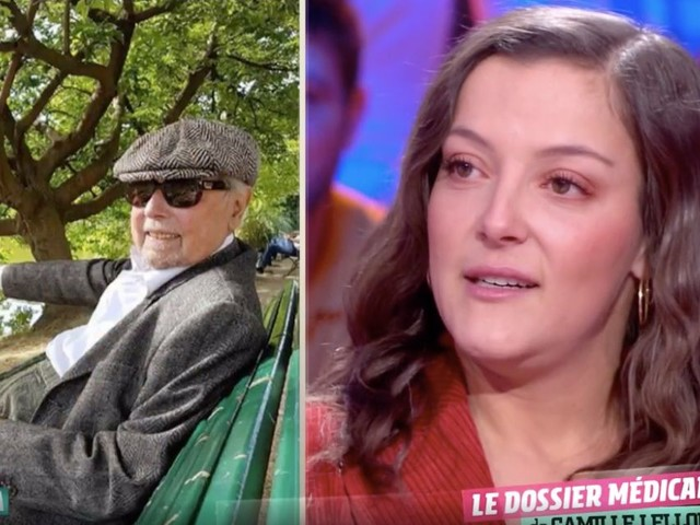 Ça ne sortira pas d'ici : Camille Lellouche en larmes en évoquant son grand-père (VIDEO)