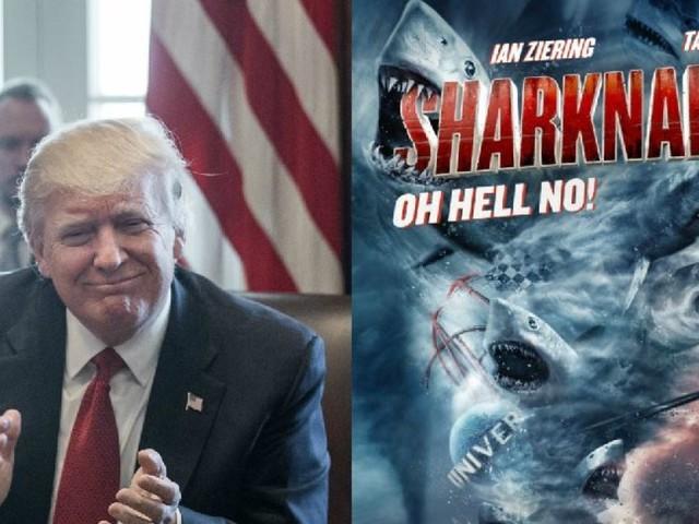 """Donald Trump devait jouer le rôle du président dans """"Sharknado 3"""""""