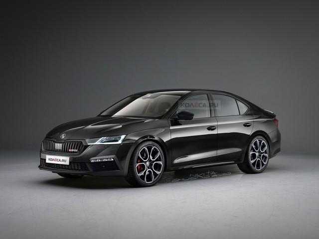 Future Skoda Octavia RS : comme ça ?