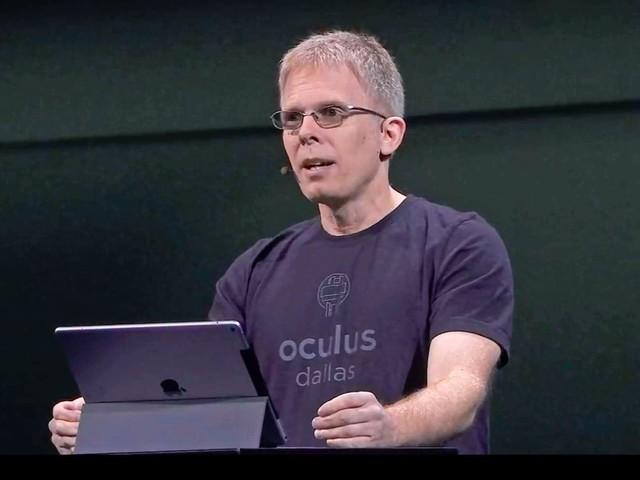 Oculus VR : John Carmack se met en retrait et devient consultant