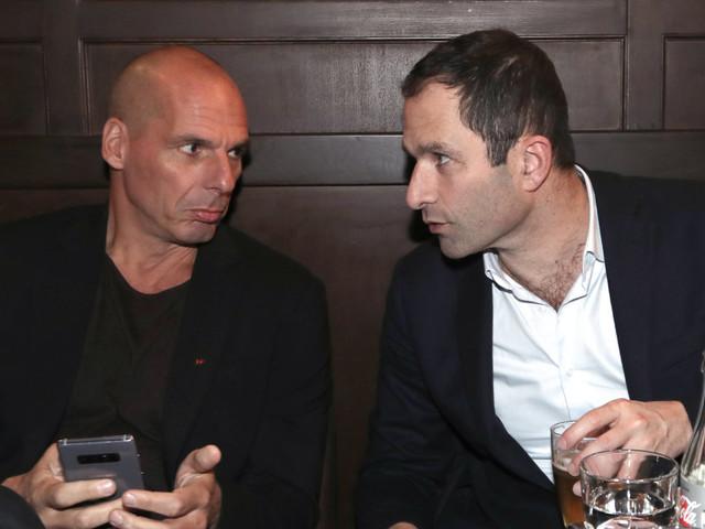 Européennes: Hamon et Varoufakis s'unissent pour des listes anti-austérité