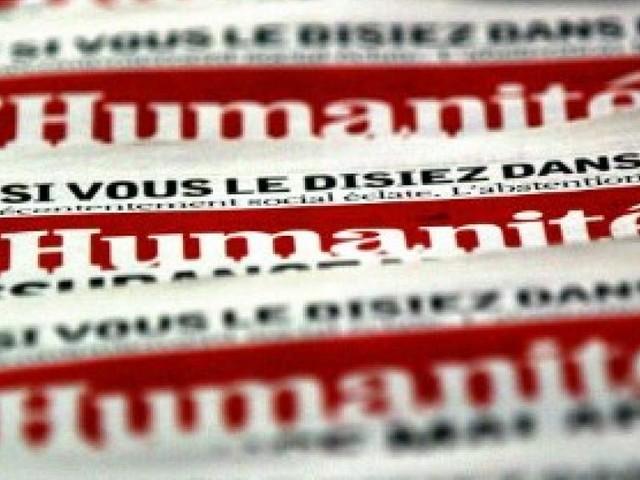 France: la justice valide le plan de continuation du journal «L'Humanité»