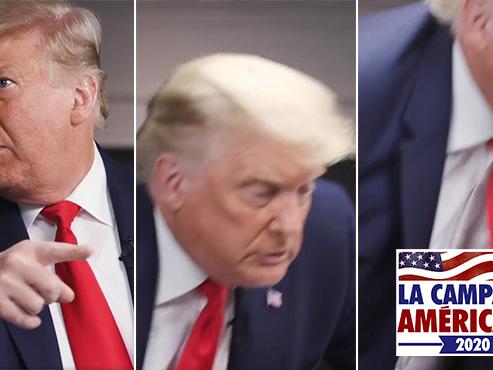 """Donald Trump quitte soudainement une interview: il dénonce des questions trop dures, """"le parti pris, la haine et l'impolitesse"""""""