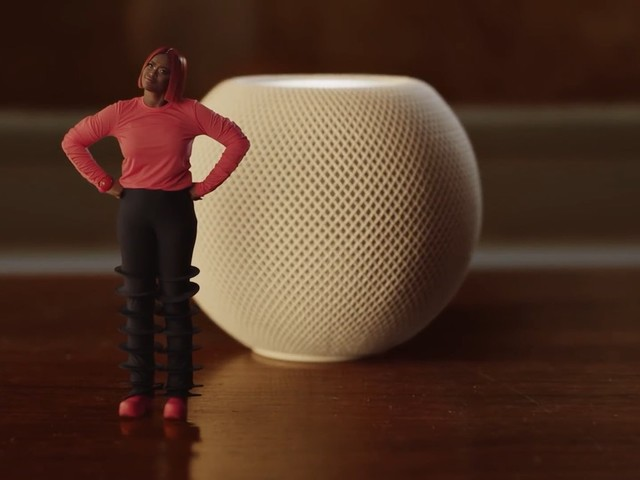 La pub de Noël d'Apple met en avant le HomePod mini