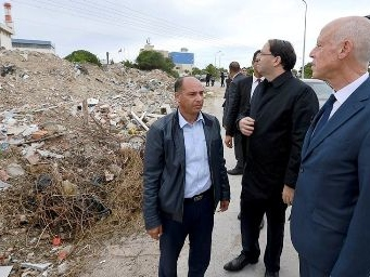 Tunisie – Kaïs Saïed se rend à Rades et La goulette pour constater les dégâts des décharges anarchiques
